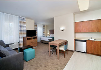Photo of Studio room at Hawthorn Suites